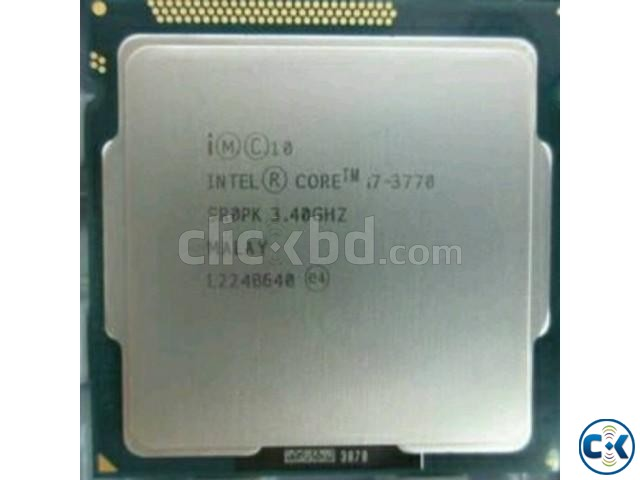 Intel Core i7-3770 Processor 8M Cache up to 3.90 GHz  | ClickBD large image 0