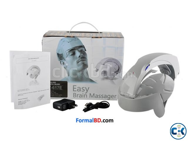 Easy Electric Brain Massager Head Massager Best Quality  | ClickBD large image 0