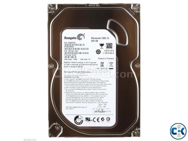 500 GB hard disk   ClickBD large image 0
