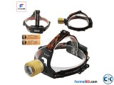 Powerful Dual LED Light Source Rechargeable Headlamp