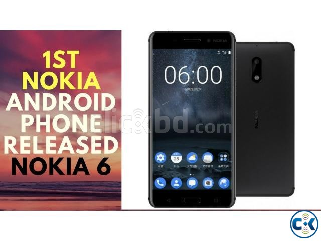 Brand New Nokia 6 3 32GB Sealed Pack With 3 Year Warranty | ClickBD large image 1
