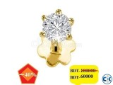 Diamond nose pin 40 off