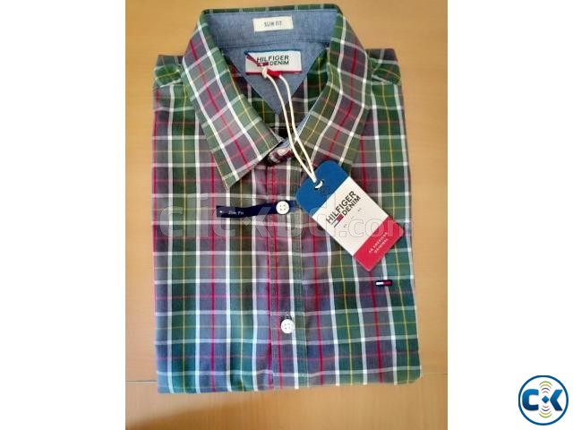 Tommy Hilfiger U.S. Polo Assn. Original Men sFormal Shirt | ClickBD large image 1