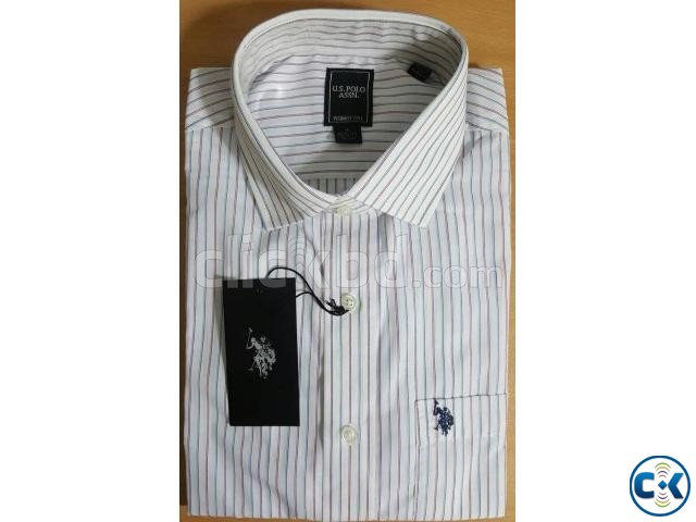Tommy Hilfiger U.S. Polo Assn. Original Men sFormal Shirt | ClickBD large image 2