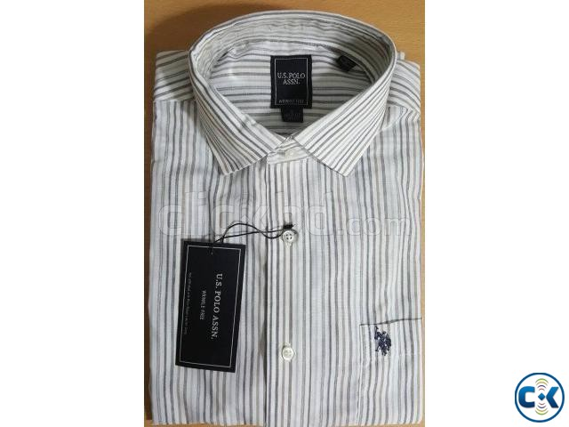Tommy Hilfiger U.S. Polo Assn. Original Men sFormal Shirt | ClickBD large image 3