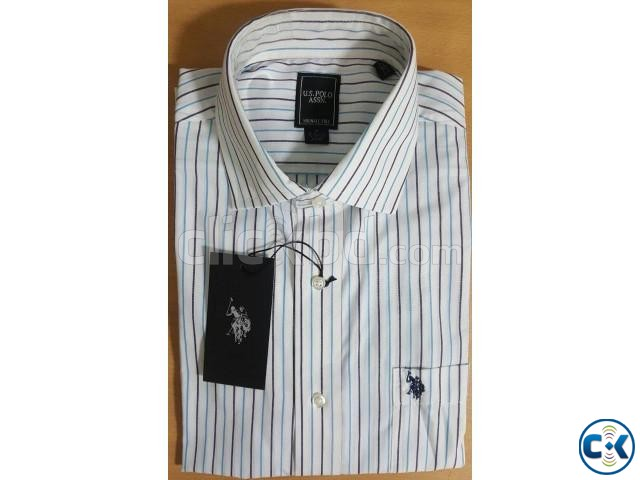 Tommy Hilfiger U.S. Polo Assn. Original Men sFormal Shirt | ClickBD large image 0