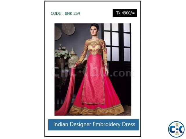 Indian Designer Embroidery Dress | ClickBD large image 0