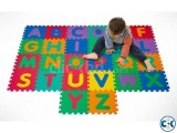 Foam Floor Alphabet Puzzle Mat BIG - Multicolour