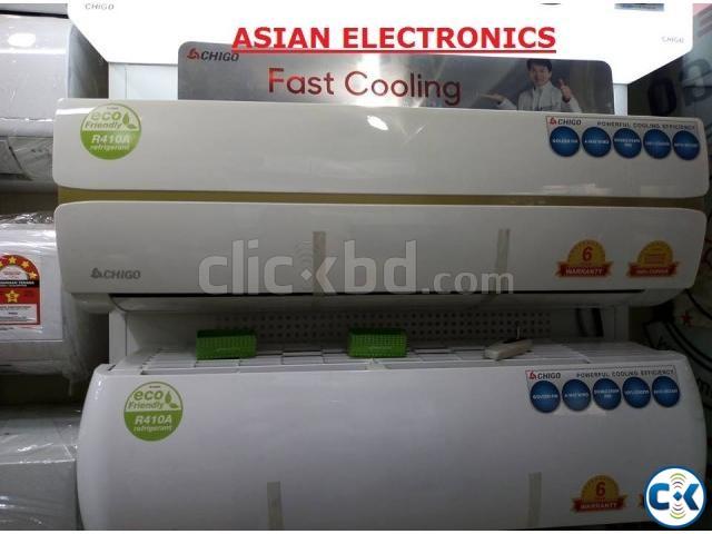 Big Sale 62 Energy Saving CHIGO Split 1.5 Ton AC | ClickBD large image 1