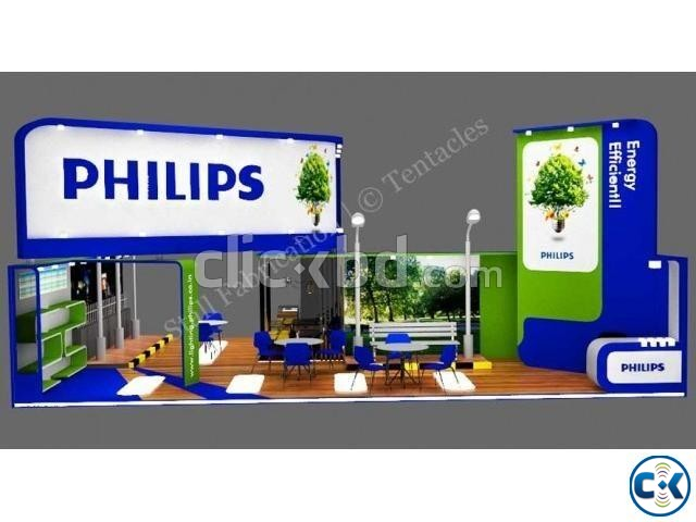 Exhibition Stall Fabrication Kiosk Pavilion Trade Fair Stall | ClickBD large image 3