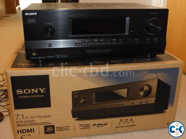 Sony STR DH 520 With wharfedale crystal 2-30 | ClickBD large image 0