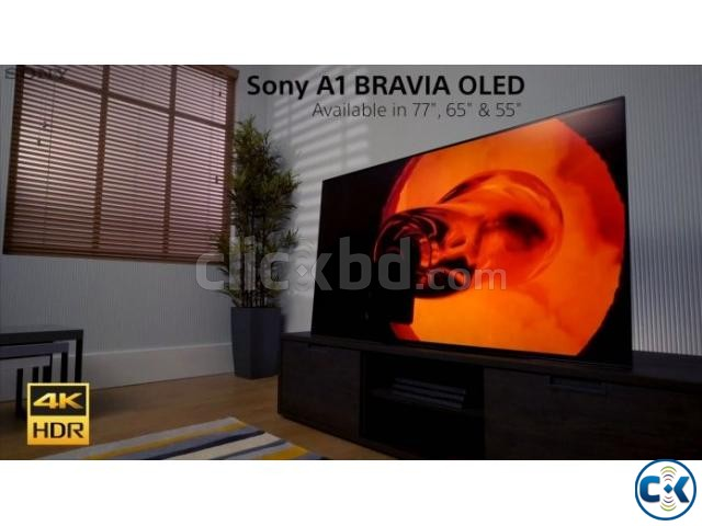 Sony Bravia A1 65 4K OLED HDR Smart Android Television | ClickBD large image 1