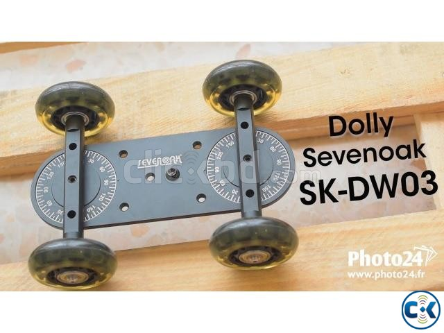 Sevenoak SK-DW03 Scaled Camera Dolly | ClickBD large image 2