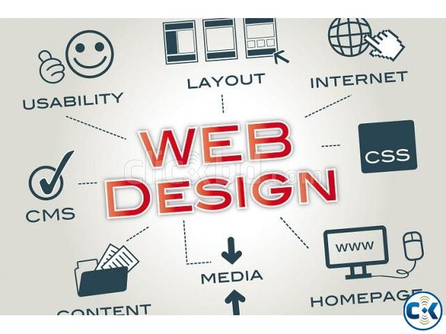 Web Design Development in Low Cost | ClickBD large image 0