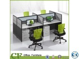 workstation and office furniture cubicle desk 4 desk