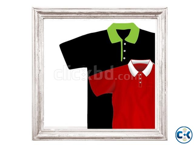 Men s POLO Shirt with Your Logo and Embroidery | ClickBD large image 0