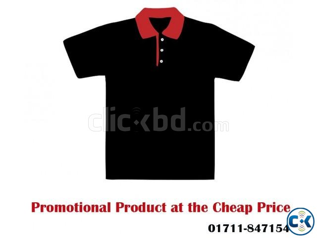 Men s POLO Shirt with Your Logo and Embroidery | ClickBD large image 1