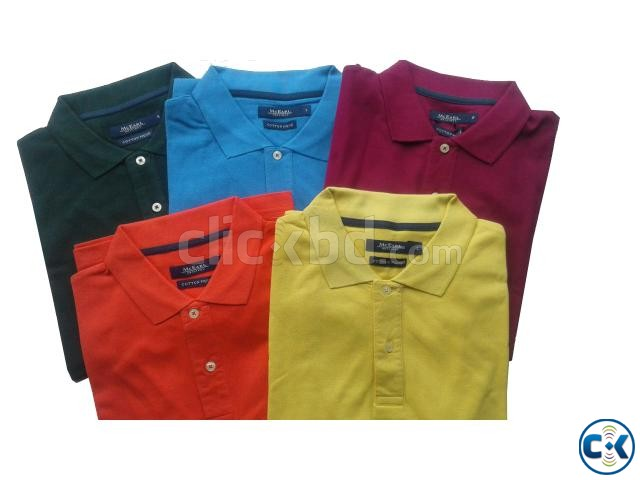 Men s POLO Shirt with Your Logo and Embroidery | ClickBD large image 2