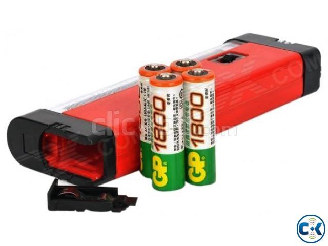 Portable ultra violet flashlight for cat urine detector uv l | ClickBD large image 0
