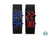 Samurai LED Wrist Watch -1PC