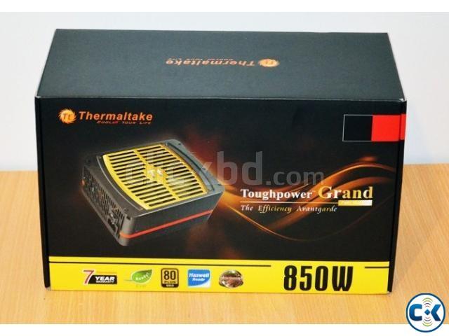 Thermaltake Toughpower Grand 850W Fully Modular 5 M Wnty   ClickBD large image 0