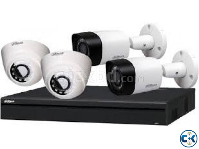 CC Camera 08Pcs 08Ch DVR Full Package | ClickBD large image 1