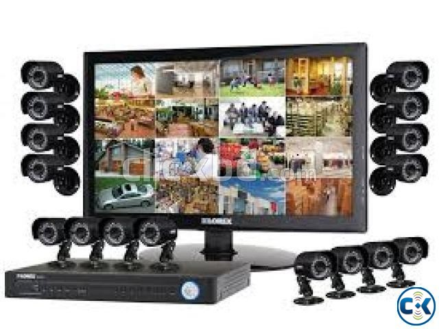 HIK VISION 700TV CCTV Camera 4 PCS. | ClickBD large image 0