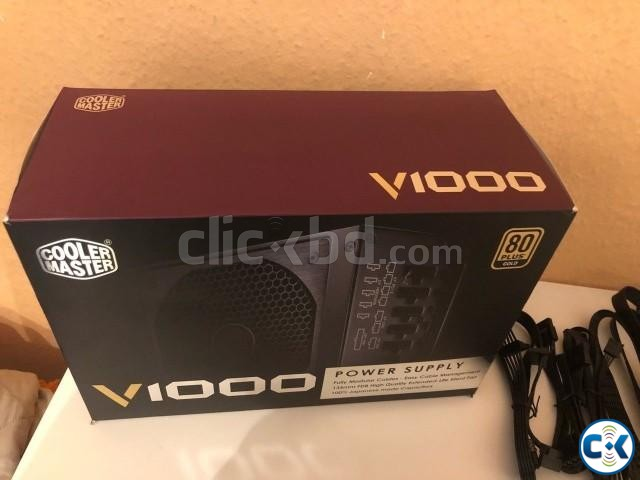 Cooler Master V1000 Fully Modular 1000W 80 Power Supply | ClickBD large image 0
