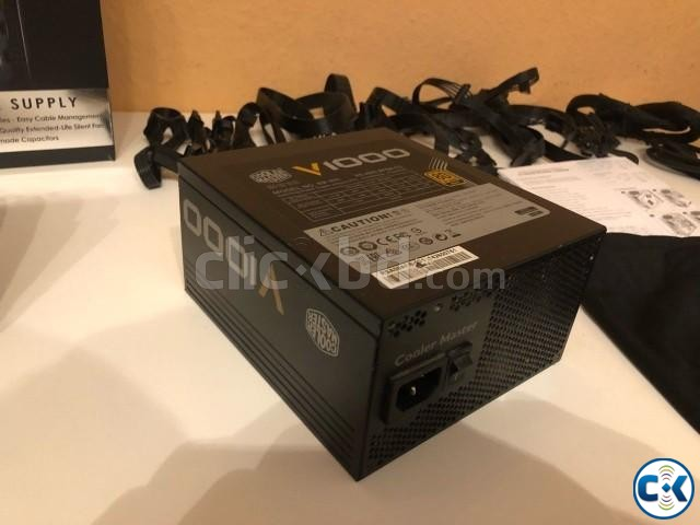 Cooler Master V1000 Fully Modular 1000W 80 Power Supply | ClickBD large image 1