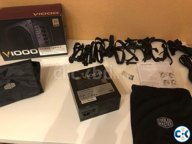 Cooler Master V1000 Fully Modular 1000W 80 Power Supply | ClickBD large image 2