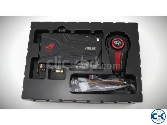 ASUS ROG XONAR PHOEBUS. with each and every accessories. box   ClickBD large image 2