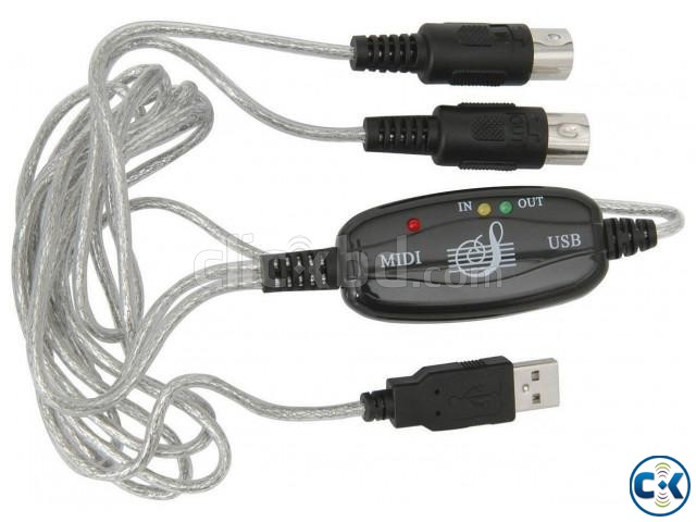High Quality MIDI To USB Cable Intact    ClickBD large image 1