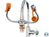 Faucet Mounted Eyewash with Faucet Control Valve