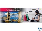 Shopping In London UK from Bangladesh and receive in BD