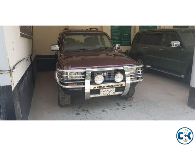 Toyota Hilux Surf Jeep 2000CC   ClickBD large image 0
