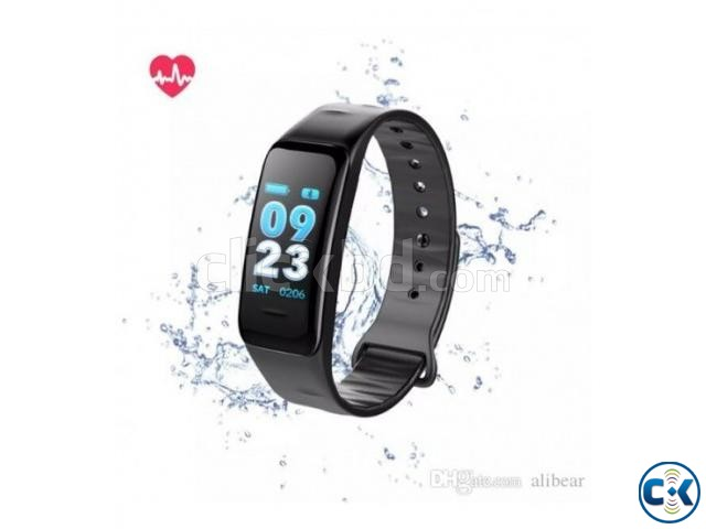 C1 Plus Smart Band Color Screen   ClickBD large image 0