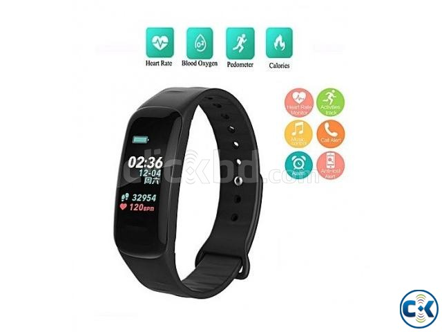 C1 Plus Smart Band Color Screen   ClickBD large image 1