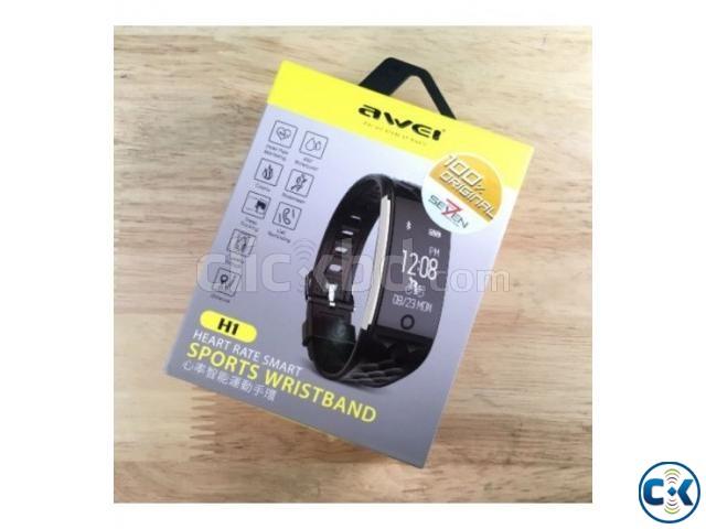 Awei H1 Smart Band Waterproof | ClickBD large image 0