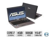 Asus Core i7 Laptop 4GB Ram 640GB HDD NVIDIA Dedicated Graph