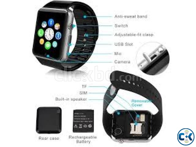 Smart Watch Phone A1 | ClickBD large image 2