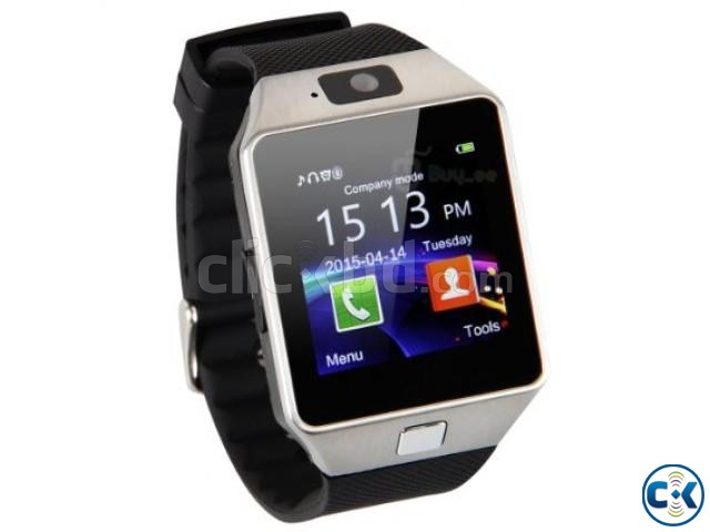 Smart Watch Phone DZ09 | ClickBD large image 0