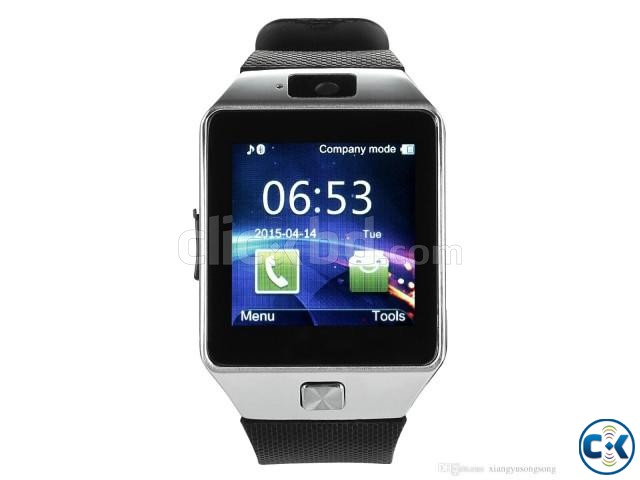 Smart Watch Phone DZ09 | ClickBD large image 1