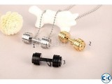 Dumbbell 100 Stainless Steel Men s Chain -1pc