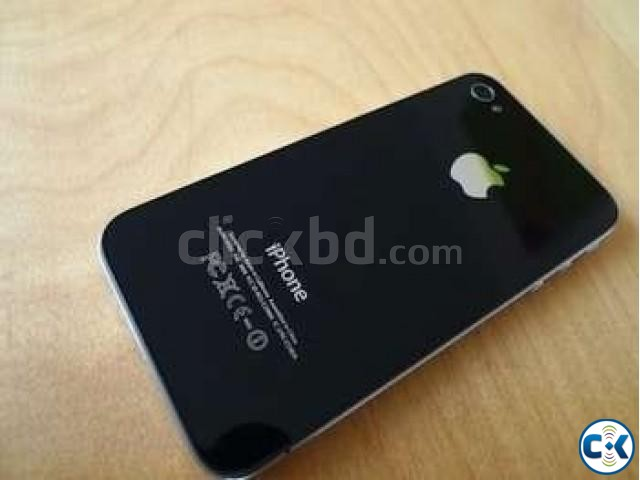 Original iPhone-4 16 GB Black from USA | ClickBD large image 0