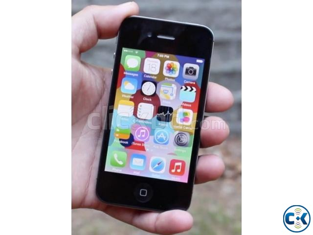 Original iPhone-4 16 GB Black from USA | ClickBD large image 2