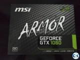 Msi GTX 1060 ARMOR 6GB