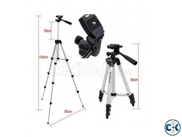 Tripod 3110A Mobile And camera Stand With Carry Bag | ClickBD large image 0
