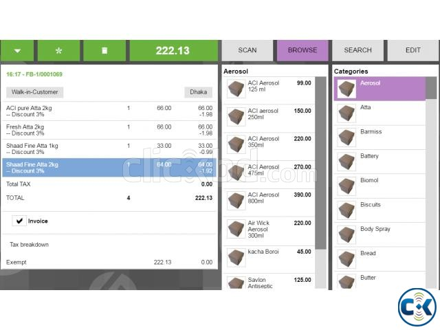 POS system With Inventory and Accounting | ClickBD large image 4