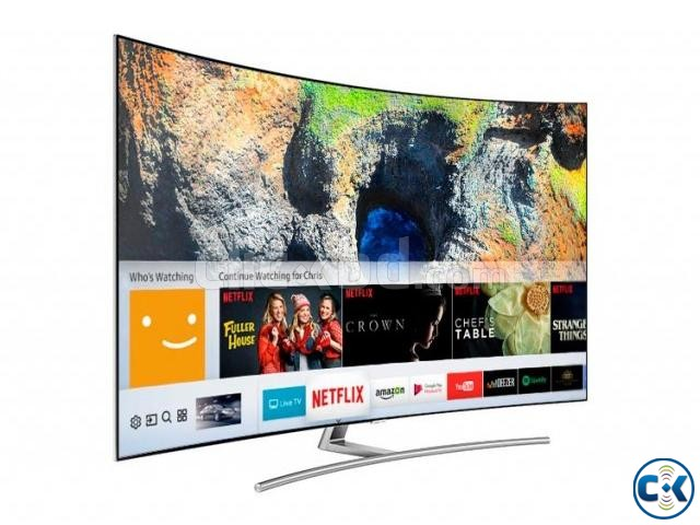 65 inch SAMSUNG Q8C QLED CURVED TV | ClickBD large image 2