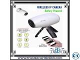 Wireless Battery Backup 2MP WiFi IP Camera